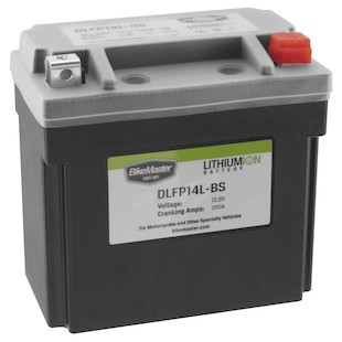 Bike Master Lithium Ion Battery DLFP-14L-BS