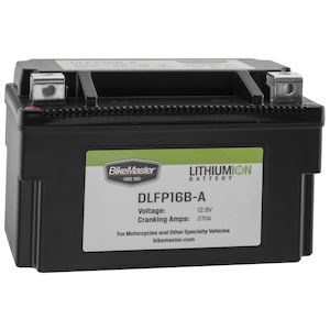 BikeMaster Lithium Ion Battery DLFP-16B-A