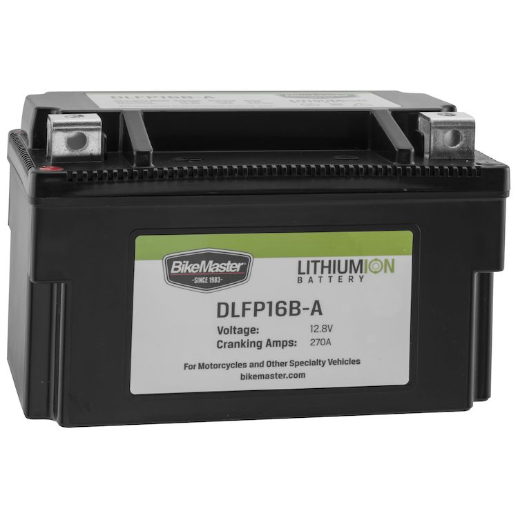 Bike Master Lithium Ion Battery DLFP-16B-A