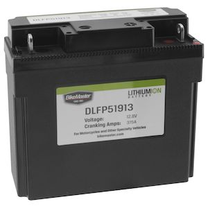 BikeMaster Lithium Ion Battery DLFP-51913