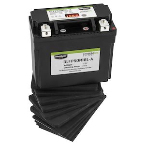 Bike Master Lithium Ion Battery DLFP-50N18L-A