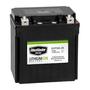 BikeMaster Lithium Ion Battery DLFP-30L-BS