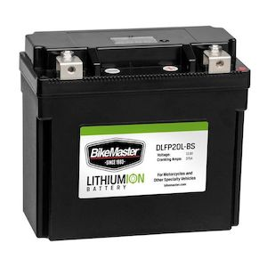 BikeMaster Lithium Ion Battery DLFP-20L-BS