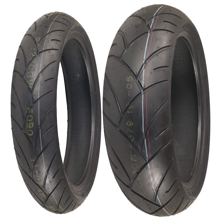 Shinko 005 Advance Tire Set