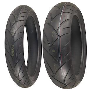 Shinko 005 Advance Tire Set