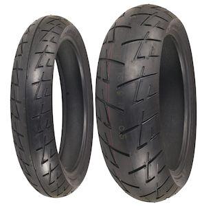 Shinko 009 Raven Tire Set