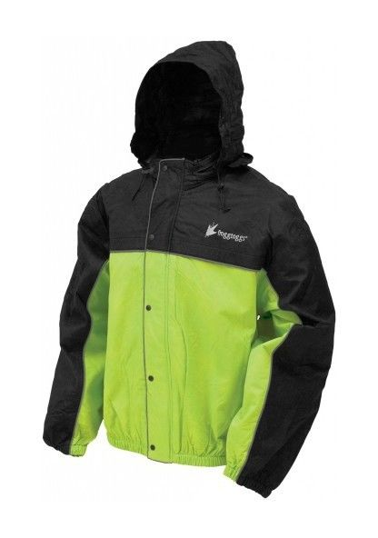 Details about  /Frogg Toggs Women/'s Road Toad Reflective Motorcycle Rain Jacket FT63533-01