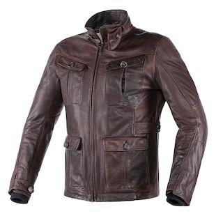 dainese harrison leather jacket - revzilla
