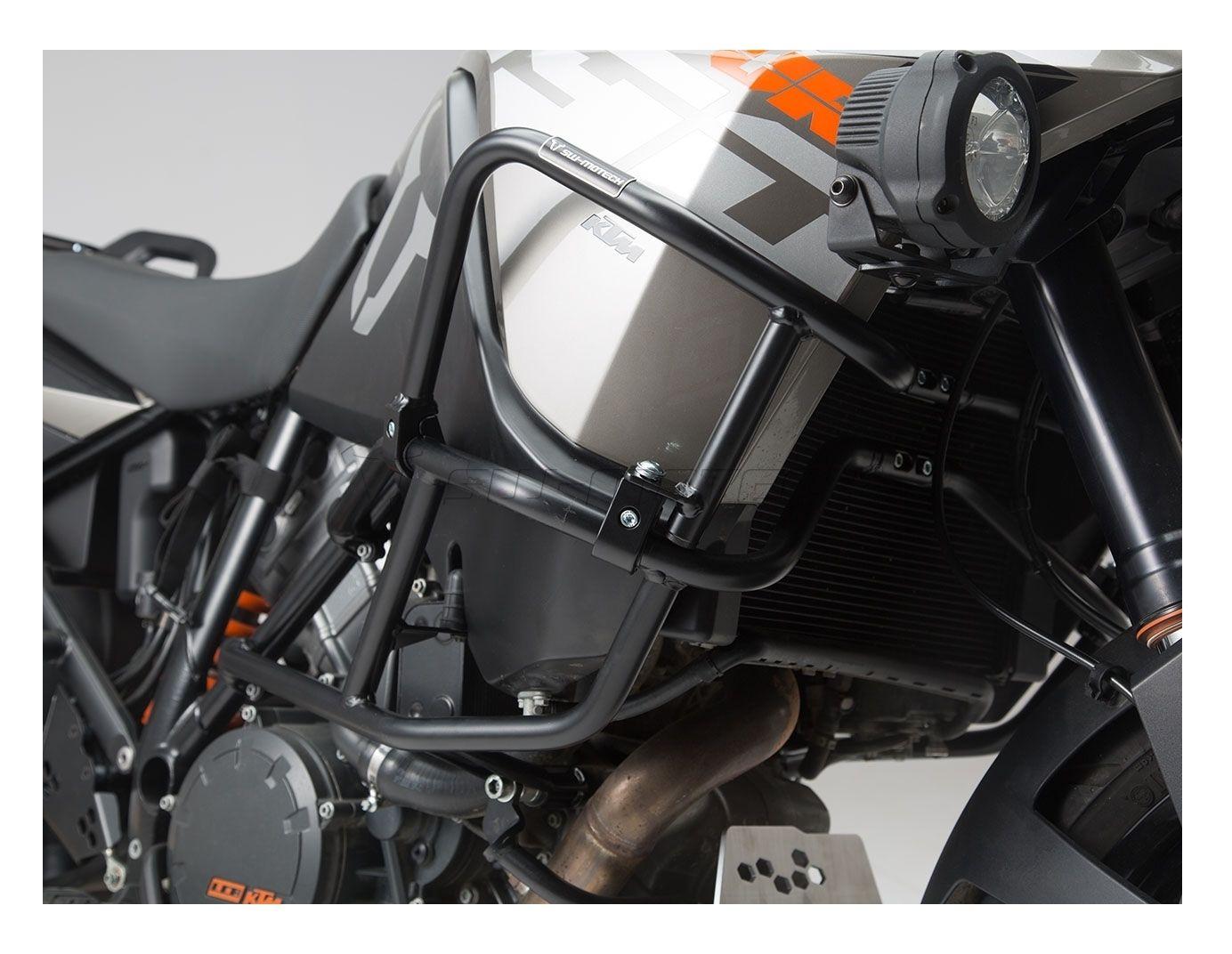 sw motech upper crash bars ktm 1190 adventure r 2013. Black Bedroom Furniture Sets. Home Design Ideas