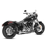 Arlen Ness by MagnaFlow F-Bomb 2-Into-1 Exhaust For Harley Softail 1996-2016 Chrome Disco [Previously Installed]