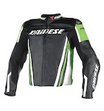 Dainese 2015 Race Replica Leather Jacket - (Size 44 Only)