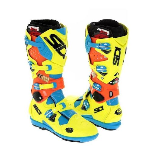 sidi crossfire 2 srs limited edition antonio cairoli boots revzilla. Black Bedroom Furniture Sets. Home Design Ideas