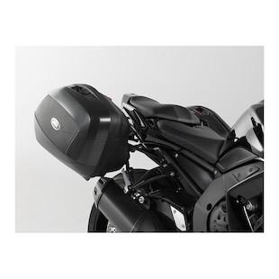 SW-MOTECH Quick-Lock EVO Side Case Racks For Givi V35 Side Cases Yamaha FZ1