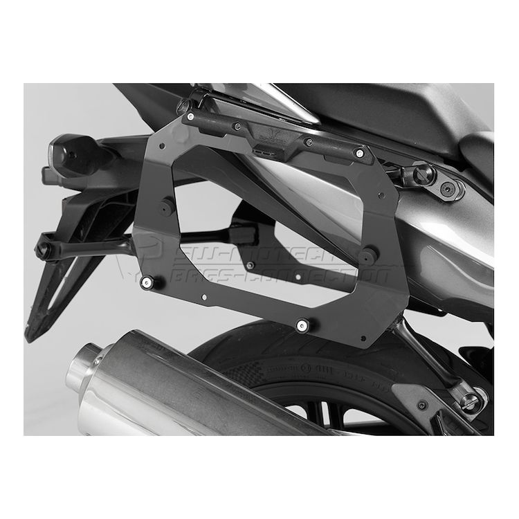 SW-MOTECH Quick-Lock EVO Side Case Racks For Givi V35 Side Cases Honda CBF600S / CBF1000