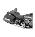 Drag Specialties Low Profile 2-Up Touring Seat For Victory Cross Country / Roads 2010-2015