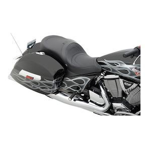 Drag Specialties Low Profile 2-Up Touring Seat For Victory