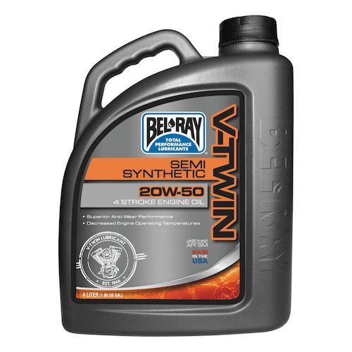 bel ray v twin semi synthetic engine oil revzilla. Black Bedroom Furniture Sets. Home Design Ideas