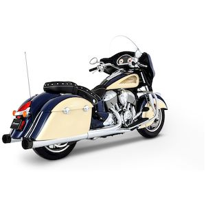 "Rinehart 4"" Slip-On Mufflers For Indian 2014-2019"