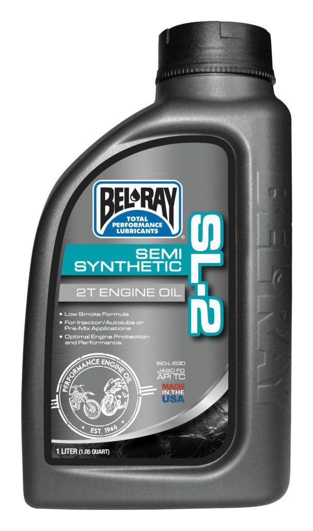 Bel Ray Sl 2 Semi Synthetic 2t Engine Oil Revzilla
