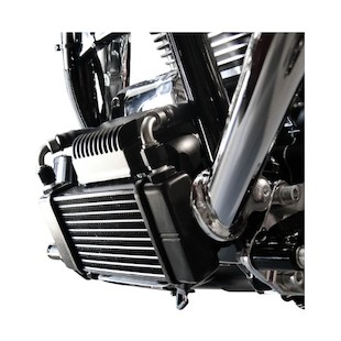 Jagg Horizontal Low Mount Oil Cooler Kit For Harley Touring 2009-2013