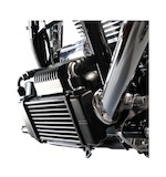 Jagg Horizontal Low Mount Oil Cooler Kit For Harley Touring 2009-2013