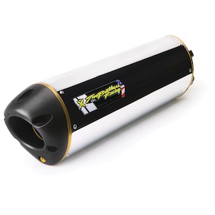 Two Brothers M2 Slip-On Exhaust Kawasaki Z750 2007-2012