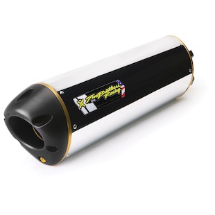 Two Brothers M2 Slip-On Exhaust Triumph Speed Triple 2007-2010