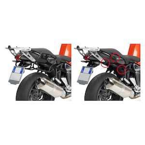 Givi PLXR691 Rapid Release V35 Side Case Racks BMW K1200R / K1300R