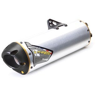 Two Brothers M7 Slip-On Exhaust Kawasaki KLR650 1997-2013