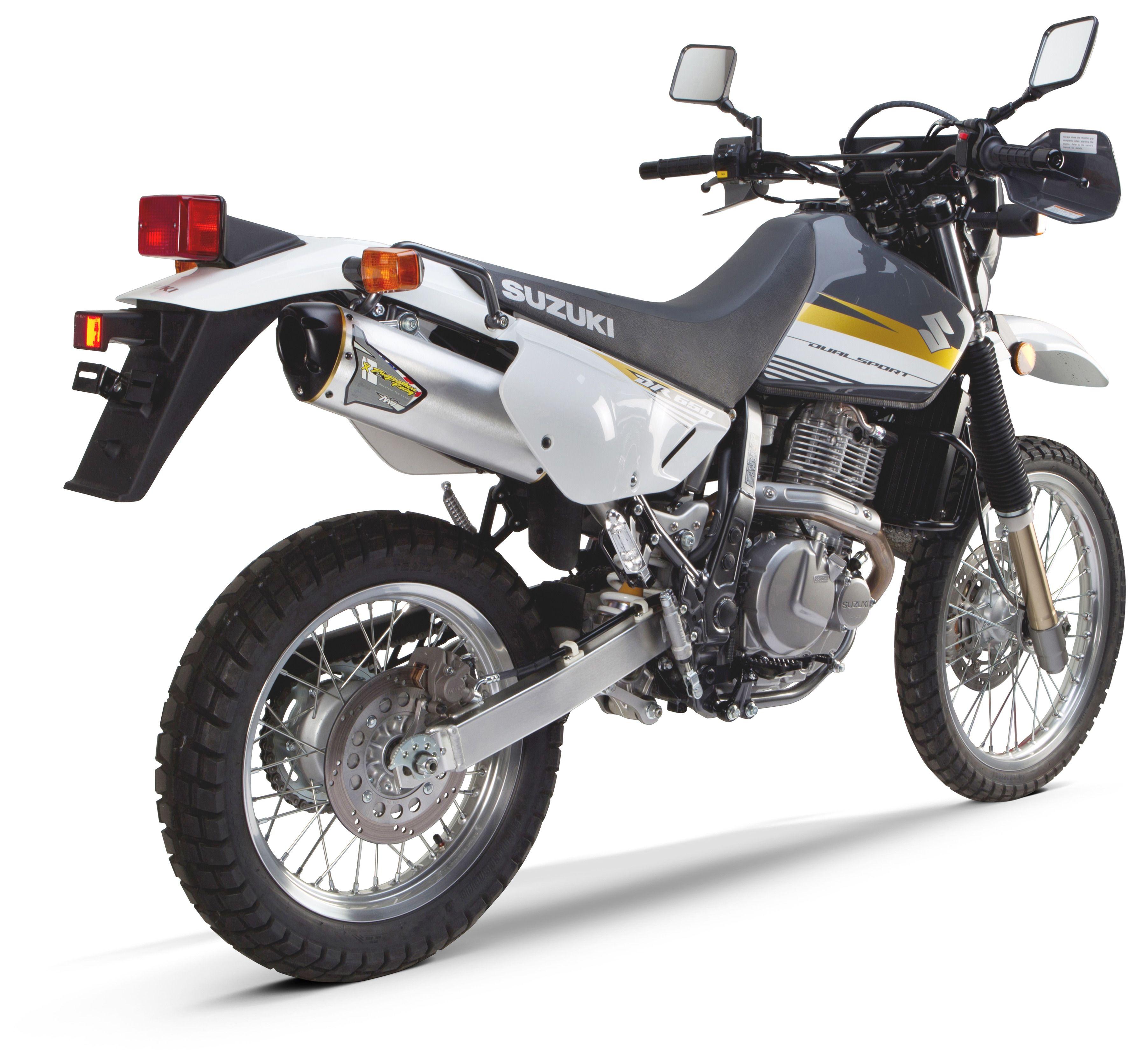 Two Brothers M7 Slip-On Exhaust Suzuki DR650 1998-2015