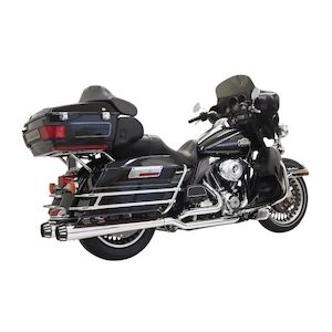 Bassani Down Under True Dual Exhaust For Harley Touring 2009-2016