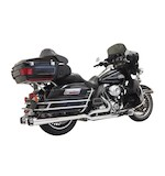 Bassani Down Under True Dual Exhaust System For Harley Touring 2009-2016