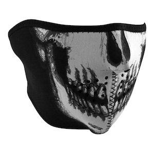 ZANheadgear Skull Neoprene Half Mask