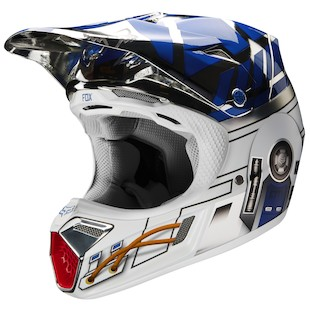 Fox Racing V3 R2D2 LE Helmet