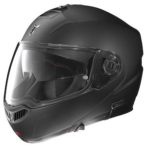 Nolan N104 EVO Helmet With MCS II Headset - Solid Matte Black / XL [Open Box]