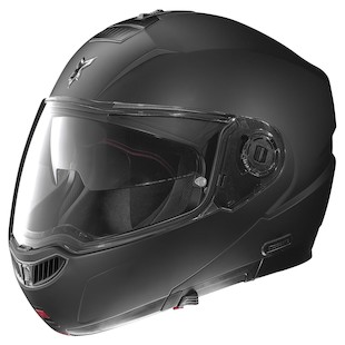 Nolan N104 EVO Helmet With MCS II Headset - Solid Matte Black / XL [Open Box]