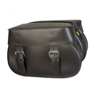 Willie & Max Mighty Legend Leather Hard Mount Saddlebags