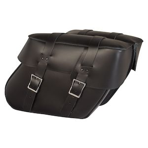 Willie & Max Ventura Leather Hard Mount Saddlebags
