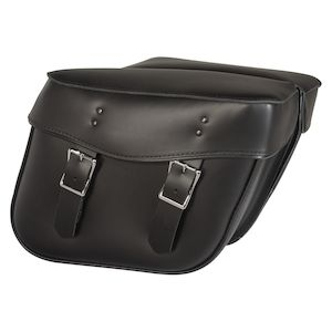Willie & Max Montana Leather Hard Mount Saddlebags