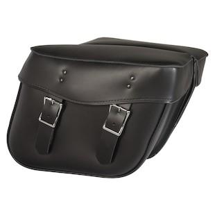 Willie & Max Montana Leather Hard Mount Saddlebags