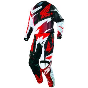 Fox Racing 180 Honda Pants Red / 28 [Blemished - Very Good]