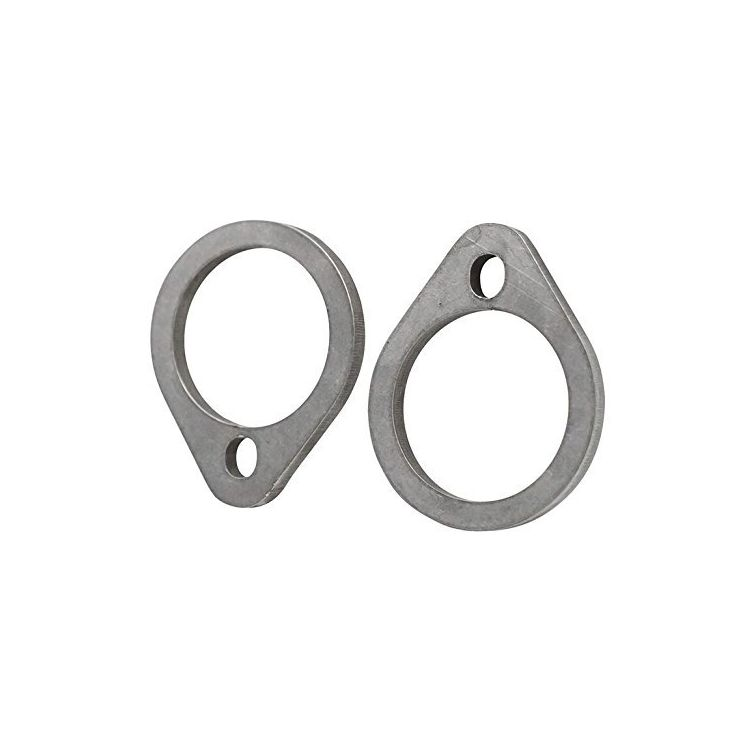 Gasbox Exhaust Flanges For Harley Shovelhead 1966-1984