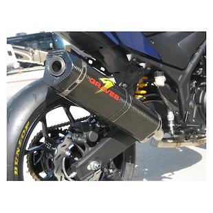 Graves Hexagonal Exhaust System Yamaha R3 2015-2017