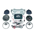 J&M Rokker XX Extreme 330W Speaker Amp Kit For Harley Touring 2014-2017