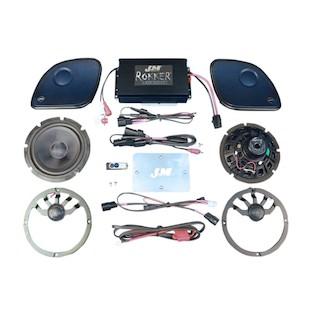 J&M Rokker XX Extreme 330W Speaker Amp Kit For Harley Road Glide 2015-2016