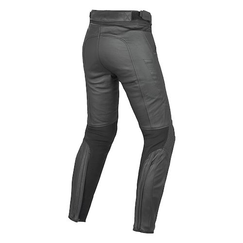 dainese pony women 39 s leather pants revzilla. Black Bedroom Furniture Sets. Home Design Ideas