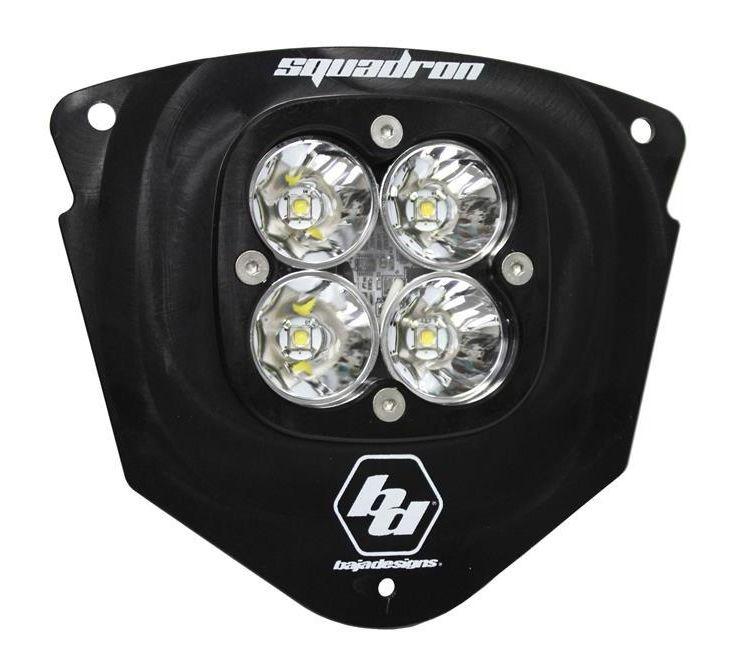 Baja Designs Squadron Pro Led Headlight Kit Ktmexc on Baja Designs Headlight