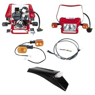 Baja Designs Dual Sport Electric Start Kit Honda CRF250X / CRF450X 2004-2016