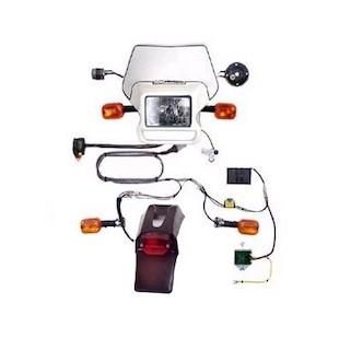 Baja Designs Dual Sport Electric Start Kit Suzuki DRZ 400E 2000-2012