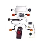 Baja Designs Dual Sport Electric Start Kit Suzuki DRZ 400E 2000-2012